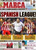 Portada diario Marca del 7 de Abril de 2012