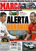 Portada diario Marca del 8 de Abril de 2012