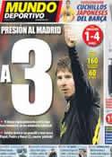 Portada Mundo Deportivo del 8 de Abril de 2012