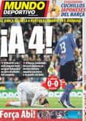 Portada Mundo Deportivo del 9 de Abril de 2012