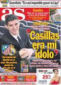 Portada diario AS del 10 de Abril de 2012