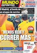Portada Mundo Deportivo del 10 de Abril de 2012