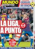 Portada Mundo Deportivo del 11 de Abril de 2012