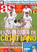 Portada diario AS del 12 de Abril de 2012