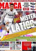 Portada diario Marca del 13 de Abril de 2012