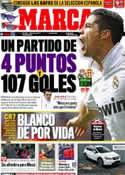 Portada diario Marca del 14 de Abril de 2012