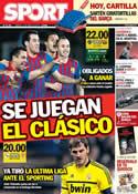 Portada diario Sport del 14 de Abril de 2012