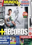 Portada Mundo Deportivo del 14 de Abril de 2012