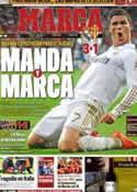 Portada diario Marca del 15 de Abril de 2012