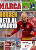 Portada diario Marca del 16 de Abril de 2012