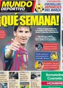 Portada Mundo Deportivo del 16 de Abril de 2012