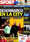 Portada diario Sport del 17 de Abril de 2012