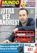 Portada Mundo Deportivo del 17 de Abril de 2012