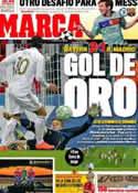 Portada diario Marca del 18 de Abril de 2012