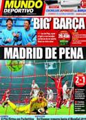 Portada Mundo Deportivo del 18 de Abril de 2012