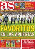 Portada diario AS del 19 de Abril de 2012