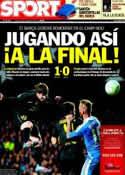 Portada diario Sport del 19 de Abril de 2012