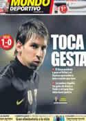 Portada Mundo Deportivo del 19 de Abril de 2012