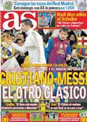 Portada diario AS del 20 de Abril de 2012