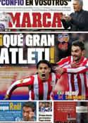 Portada diario Marca del 20 de Abril de 2012