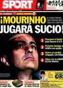 Portada diario Sport del 20 de Abril de 2012