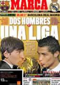 Portada diario Marca del 21 de Abril de 2012