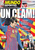Portada Mundo Deportivo del 21 de Abril de 2012
