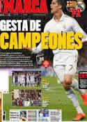 Portada diario Marca del 22 de Abril de 2012