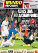 Portada Mundo Deportivo del 22 de Abril de 2012