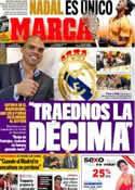 Portada diario Marca del 23 de Abril de 2012