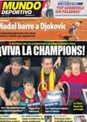 Portada Mundo Deportivo del 23 de Abril de 2012