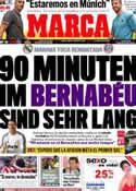 Portada diario Marca del 24 de Abril de 2012