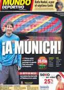 Portada Mundo Deportivo del 24 de Abril de 2012