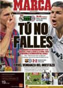 Portada diario Marca del 25 de Abril de 2012