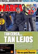 Portada diario Marca del 26 de Abril de 2012