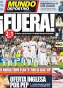 Portada Mundo Deportivo del 26 de Abril de 2012