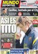 Portada Mundo Deportivo del 29 de Abril de 2012