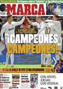 Portada diario Marca del 30 de Abril de 2012