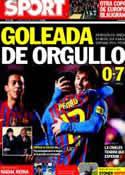 Portada diario Sport del 30 de Abril de 2012