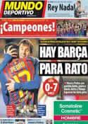 Portada Mundo Deportivo del 30 de Abril de 2012