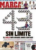 Portada diario Marca del 1 de Mayo de 2012