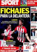 Portada diario Sport del 1 de Mayo de 2012