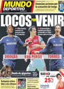 Portada Mundo Deportivo del 1 de Mayo de 2012