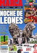 Portada diario Marca del 2 de Mayo de 2012