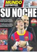 Portada Mundo Deportivo del 2 de Mayo de 2012