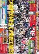 Portada diario AS del 3 de Mayo de 2012