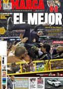 Portada diario Marca del 3 de Mayo de 2012