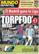 Portada Mundo Deportivo del 3 de Mayo de 2012
