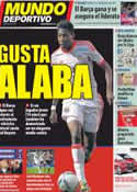 Portada Mundo Deportivo del 4 de Mayo de 2012