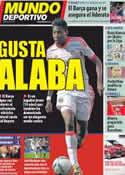 Portada Mundo Deportivo del 4 de Mayo de 2012